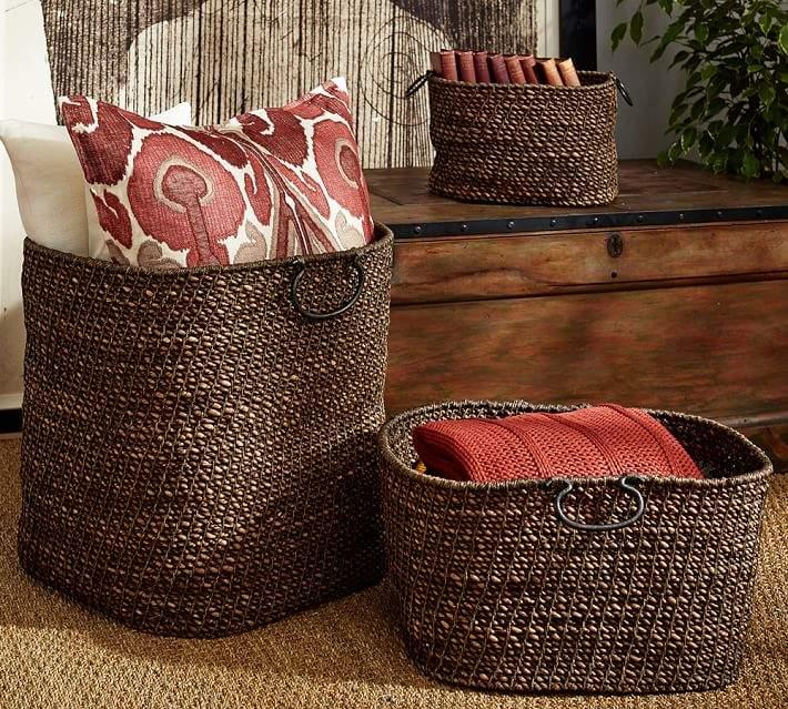 Dark Twist and Knot Baskets