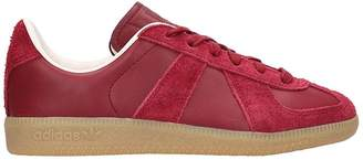 adidas Burgundy Suede Bw Army Sneakers
