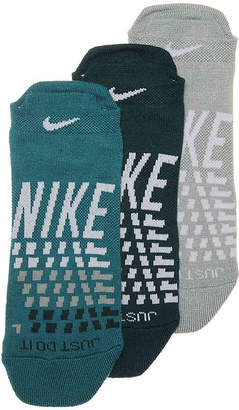 Nike Graph No Show Sock - 3 Pack - Women's