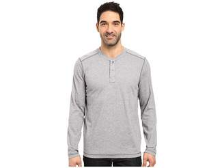 The North Face Long Sleeve Copperwood Henley (Zinc Grey Heather