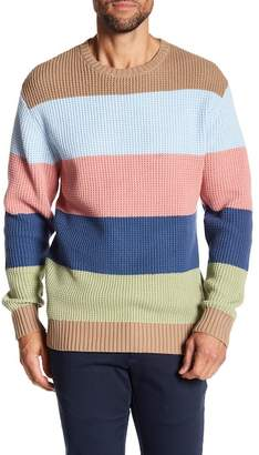 Barney Cools Colorblock Knit Sweater