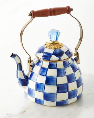 Mackenzie Childs MacKenzie-Childs Royal Check 2-Qt. Tea Kettle