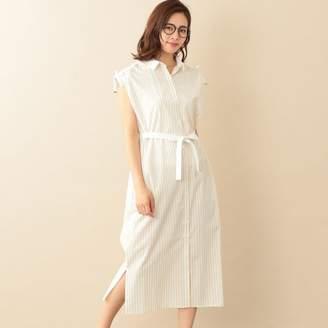 Le Jour (ル ジュール) - ル ジュール 【RELDI】STRIPE CLERIC SHIRT DRESS