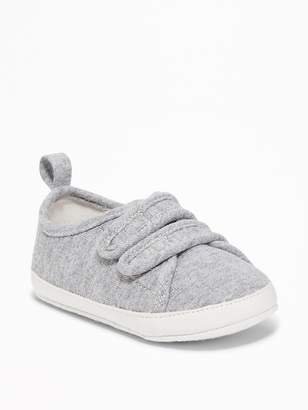 Old Navy Jersey Secure-Close Sneakers for Baby