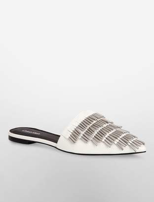Calvin Klein addie patent leather sandal