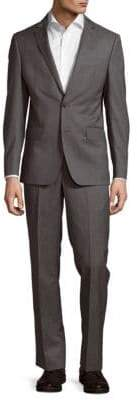 DKNY Stripe Wool Suit
