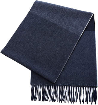 Co Begg & Color-Block Wool Scarf