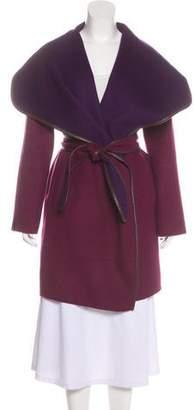 Vince Wool Knee-Length Coat