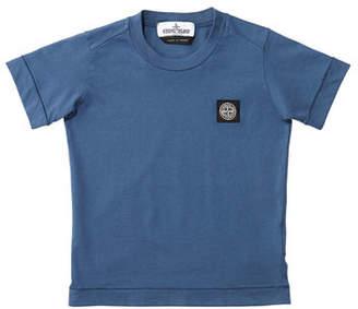 Stone Island Boy's Short-Sleeve Logo Patch Tee, Size 2-6