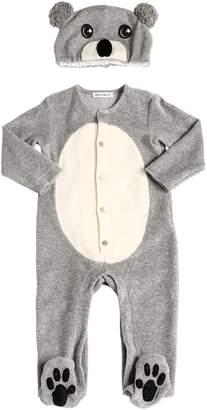 Dolce & Gabbana Koala Chenille Pajamas & Hat