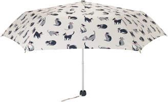 Cath Kidston Small Painted Cats Minilite Umbrella