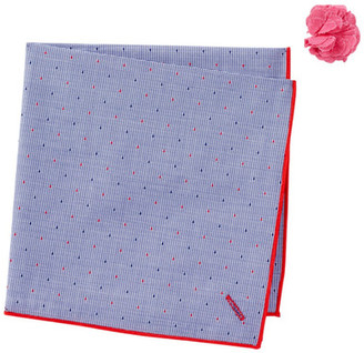 Alara Exporatorium Pocket Square & Lapel Pin Set $45 thestylecure.com