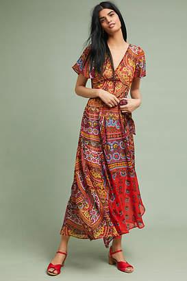 Akemi + Kin Murol Wrapped Maxi Dress