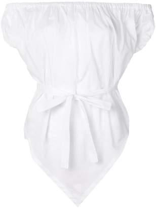 Vivienne Westwood belted off shoulder top