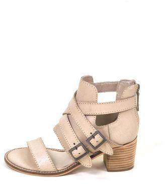 Kelsi Dagger Distressed Leather Sandal $155 thestylecure.com