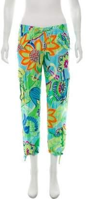 Ralph Lauren Silk Cargo Pants
