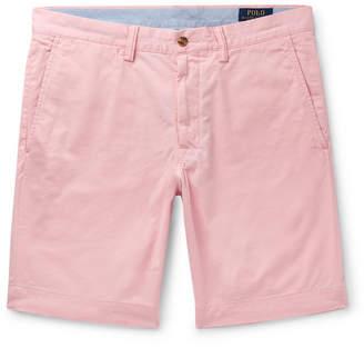 Polo Ralph Lauren Slim-Fit Cotton-Blend Twill Chino Shorts