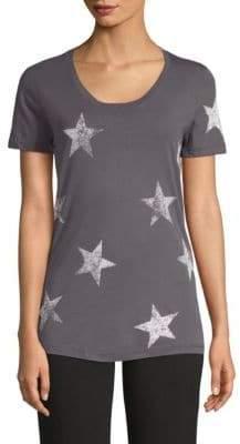 Monrow Star-Print Tee