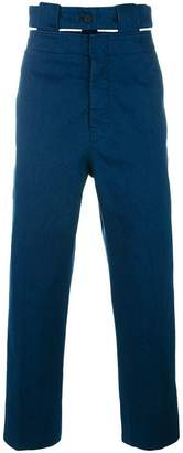 Marni belted straight leg jeans