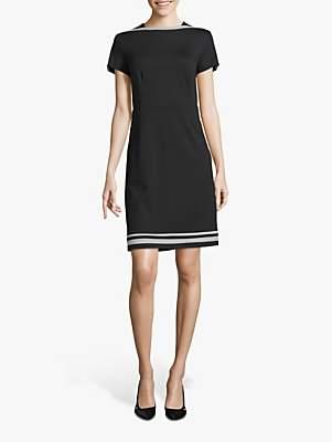 Betty Barclay Scalloped Sleeve Shift Dress, Black