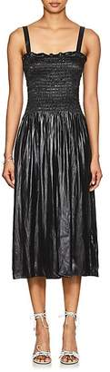 MM6 MAISON MARGIELA Women's Liquid Satin Convertible Dress