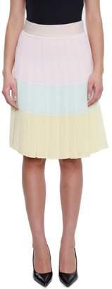 Edward Achour Paris Pleated Skirt