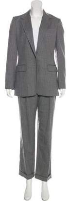 KORS Wool Striped Pant Suit