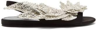 Balenciaga Slash flat sandals