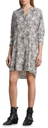 AllSaints Cayla Paisley Shirtdress