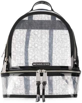 MICHAEL Michael Kors logo print Rhea backpack