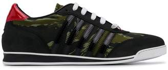 DSQUARED2 camouflage print New Runner sneakers