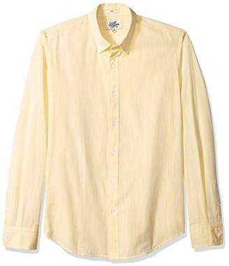 Casual Terrains Men's Tailored Slim-Fit Button-Down Collar Summer Shirt Without Pocket .