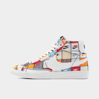 Nike Men's Blazer Mid Patchwork Casual Shoes