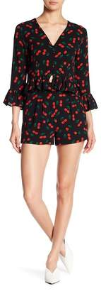 Romeo & Juliet Couture Cherry Patterned Shorts