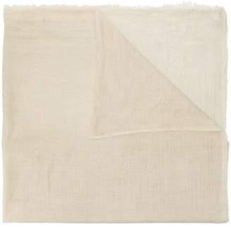 Faliero Sarti raw trim scarf