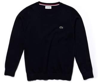 Lacoste Jersey Crewneck Sweater