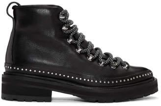 Rag & Bone Black Compass II Shearling Boots