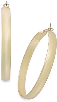 "Thalia Sodi Medium 1.5"" Wide Hoop Earrings"