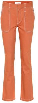 Chloé Stretch-cotton pants