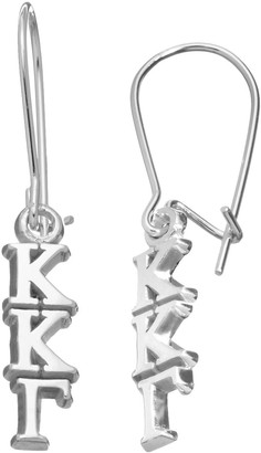 LogoArt Kappa Kappa Gamma Sorority Drop Earrings