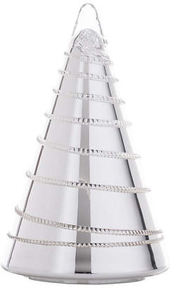 "Juliska 10"" Amalia Silver Bohemian Glass Tree"
