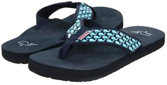 Vineyard Vines Whale Flip Flops Men's Sandals