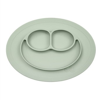Ezpz Mini Mat Placemat and Plate Nordic Collection Sage