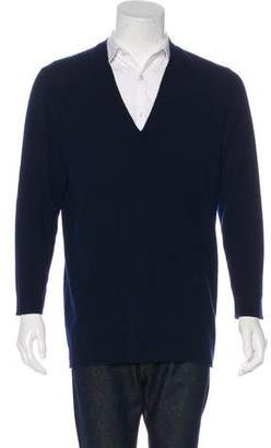 Maison Margiela Cashmere V-Neck Sweater