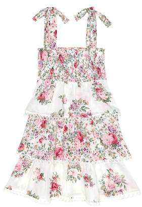 Zimmermann Kids Honour floral cotton dress