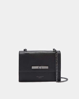 Ted Baker JULIAH Concertina mini leather cross body bag