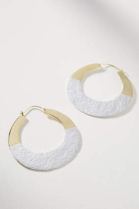 Lena Bernard Duet Hoop Earrings