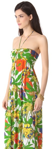 T-Bags Tbags los angeles Bright Maxi Dress