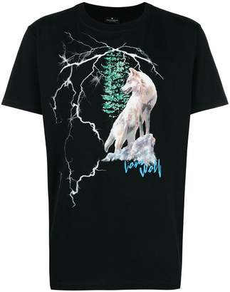 Marcelo Burlon County of Milan Wolf T-shirt