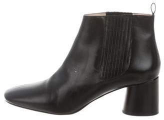 Marc Jacobs Leather Ankle Boots Black Leather Ankle Boots